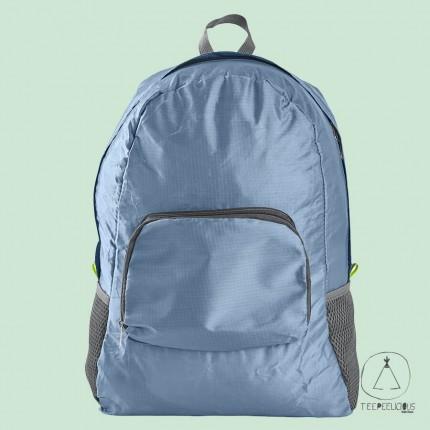 Backpack foldable - blue