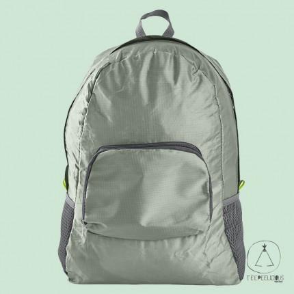 Backpack foldable - green