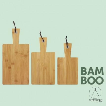 Cutting board bamboo set3