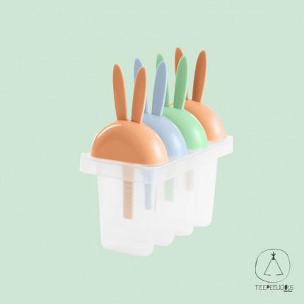 Ice pops forms - rabbit
