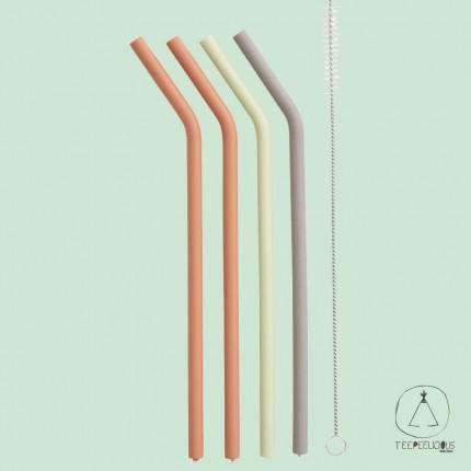 silicon straws