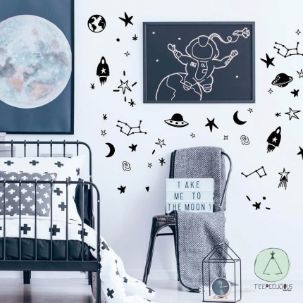 """Wall stickers """"space"""""""