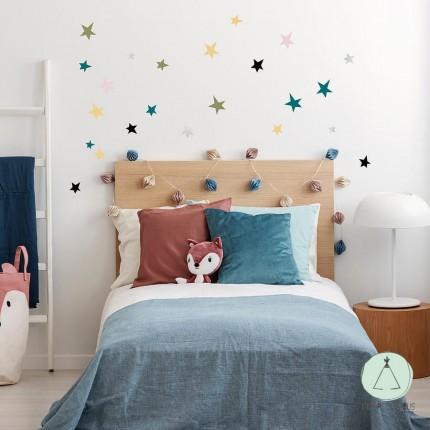 "Wall stickers ""Stars"" multicolor"
