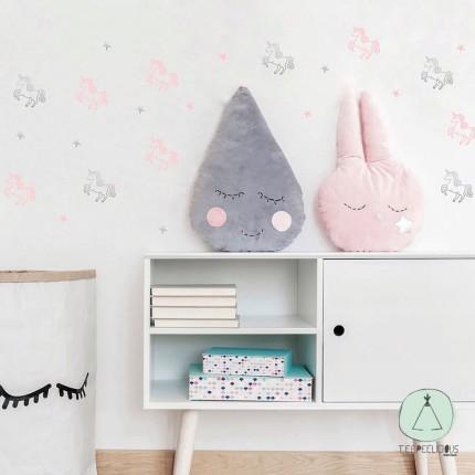 "Wall stickers ""Unicorn stars"""