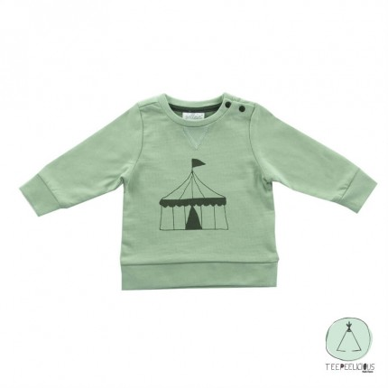 Sweater circus green 62/68