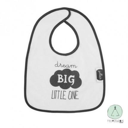 """Bib """"dream big"""""""