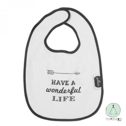 "Bib ""Wonderful life"""