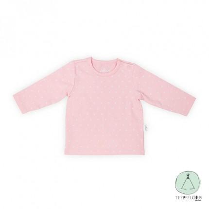 Shirt  pink hearts 50/56