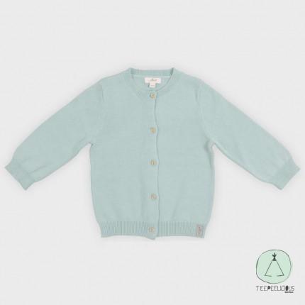 Cardigan green 62/68