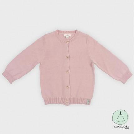 Cardigan pink 62/68