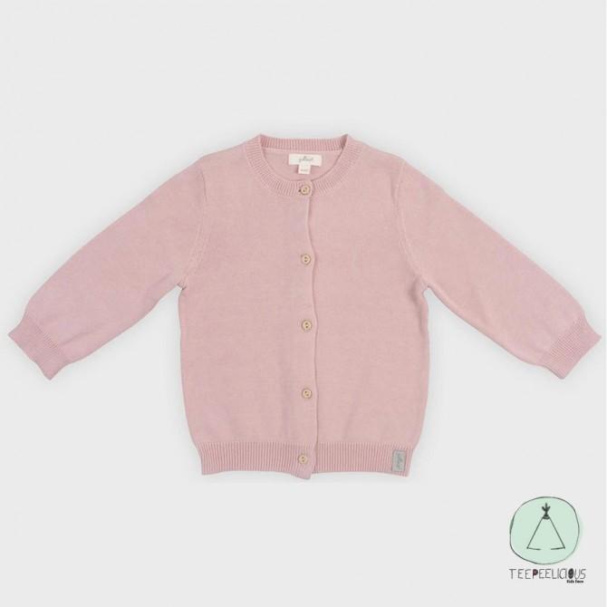 Cardigan pink 74/80