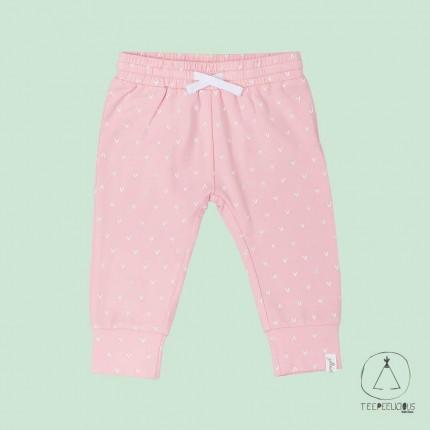 Pants pink hearts 50/56