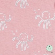 Sleeping bag  summer octopus pink 90cm