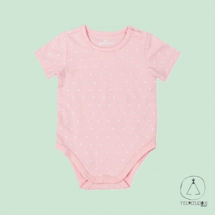 Body hearts pink 62/68