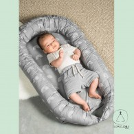 Babynest rainbows grey