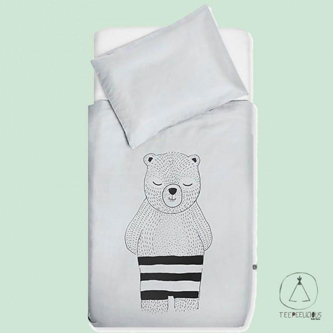 Duvet cover Bear Grey