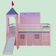 Castle bed pink