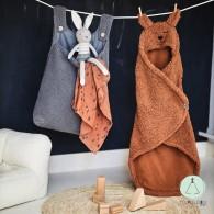 Storage Bag Teddy Grey