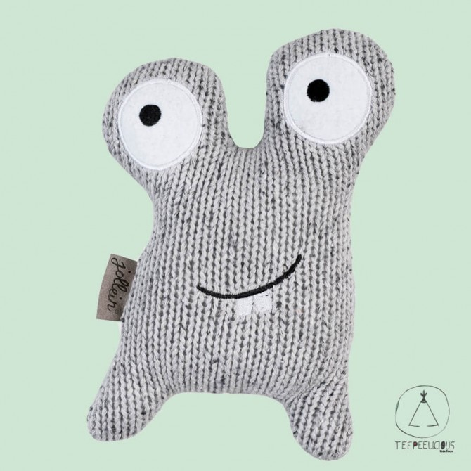 KNITTED LITTLE MONSTER GREY