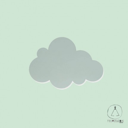 WALL LAMP CLOUD GREEN