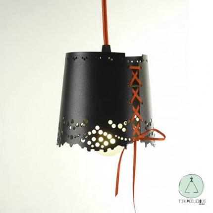 PENDANT LAMP LITTLE LACE BLACK