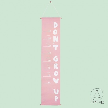 GROWTH CHART ABC PINK
