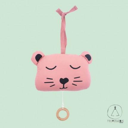 Music hanger Animal PInk