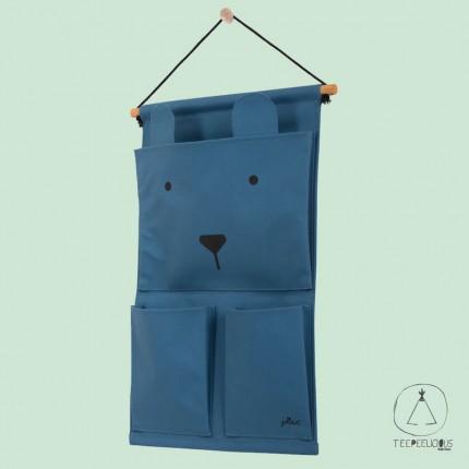 WALL ORGANISER BLUE