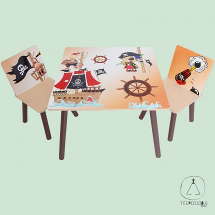"Set table with chairs ""Pirates"""