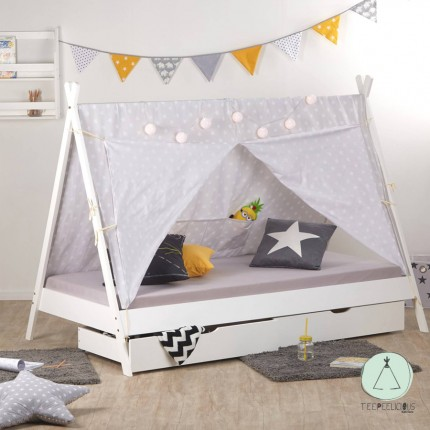 Tipi Bed with drawers