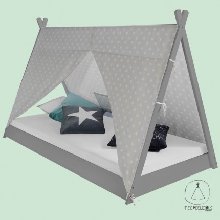 Tipi Bed New grey