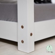 HOUSE BED WHITE