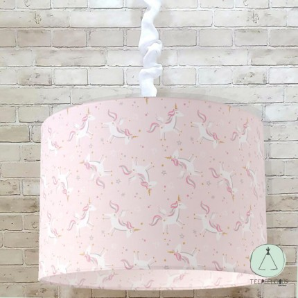 Pendant light Unicorns pink