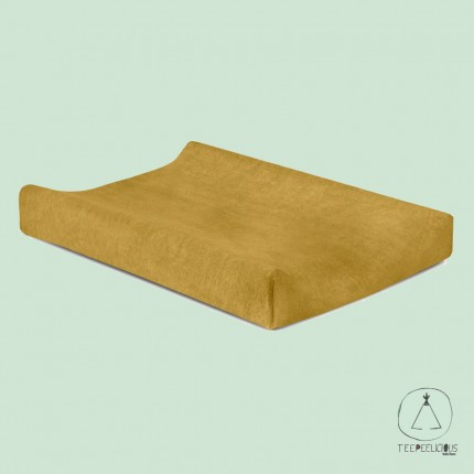 Changing Mat cover mustard