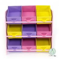 Wooden Shelf Storage boxes Princess
