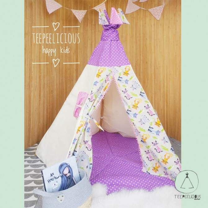 TEEPEE DOT CATS