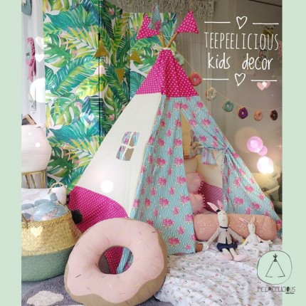 TEEPEE FLORAL DOTS