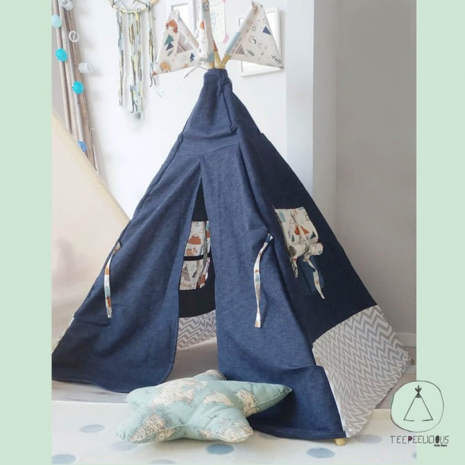 Teepee Denim forest