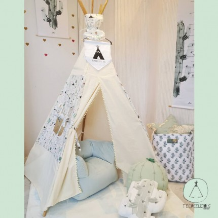 "Teepee ""Pure indians"" standard"