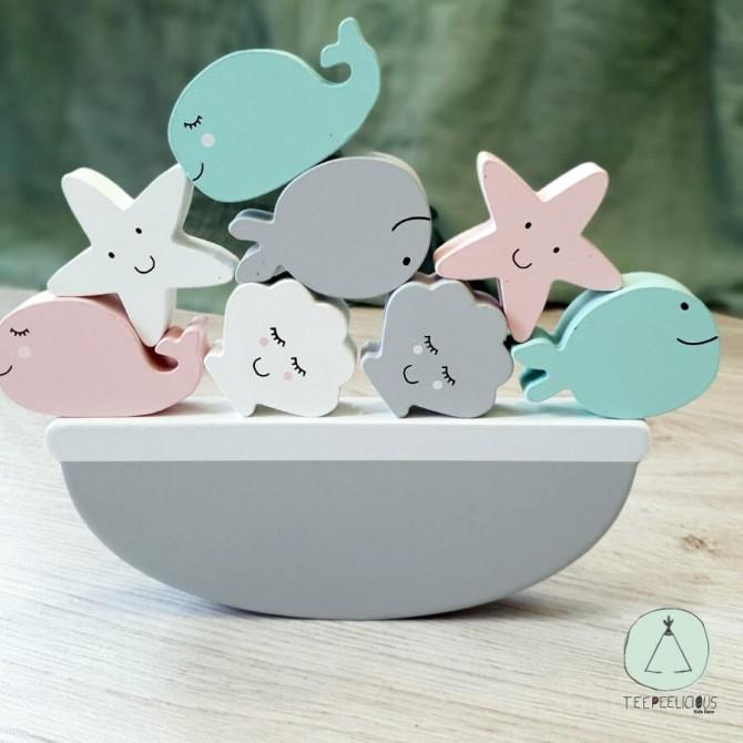 Balance Game Sea Animals