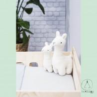 Soft Toy Lama off-white