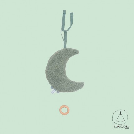 Music hanger moon Green