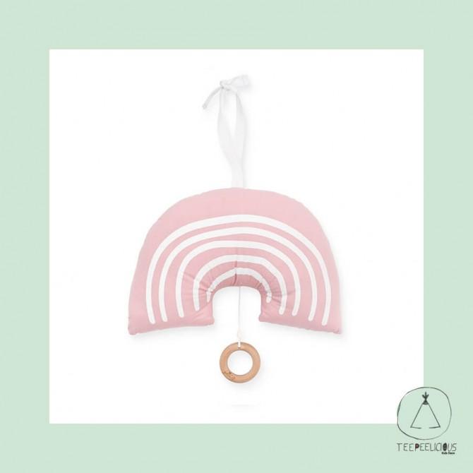 Music hanger Rainbow PInk