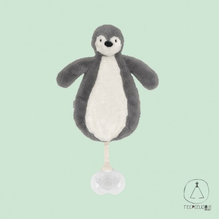 Pacifier Cloth Penguin