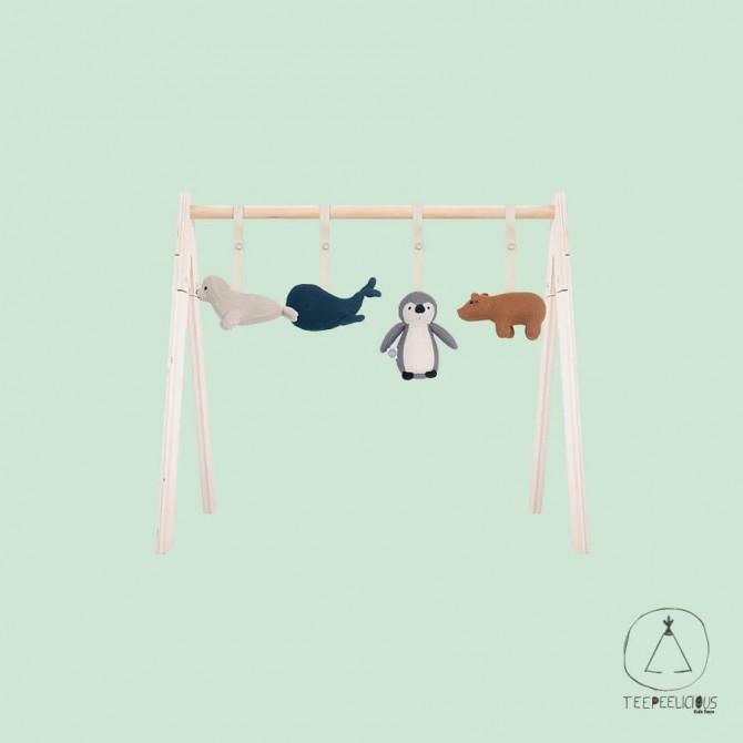 Baby Gym toys polar animals