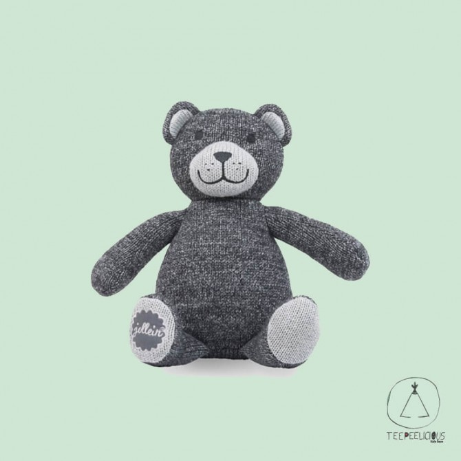 KNITTED BEAR ANTHRACITE