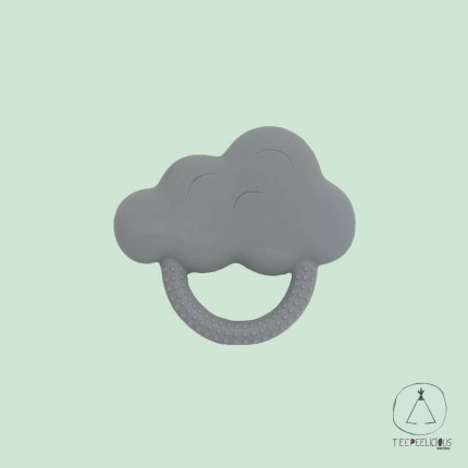 Teether cloud gray
