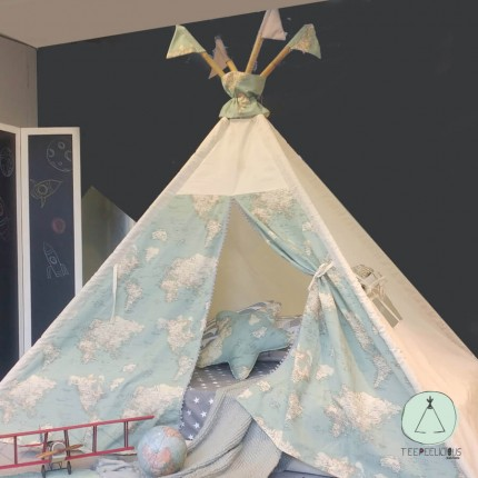 "TEEPEE BED ""GLOBAL"""
